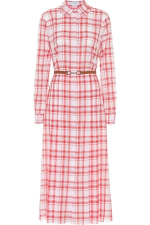 GABRIELA HEARST Kobieta Sukienki dzienne - Jane checked cotton shirt dress