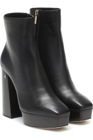 Jimmy Choo Bryn leather ankle boots