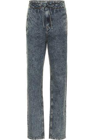 Isabel Marant Kobieta Z wysokim stanem - Uduard high-rise straight jeans