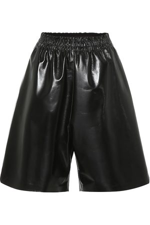 Bottega Veneta Leather Bermuda shorts