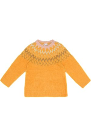 MORLEY Fuzzy Bear alpaca-blend sweater