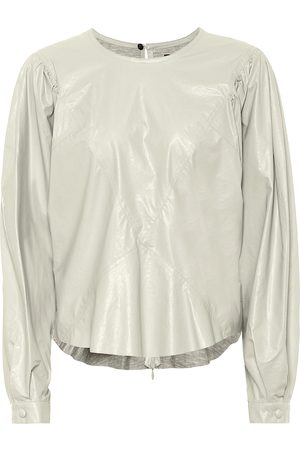 Isabel Marant Dobson faux-leather top