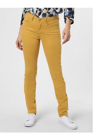 Brax Spodnie damskie – Shakira, żółty