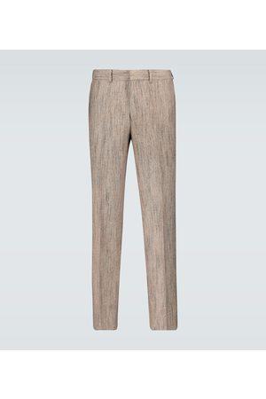 Auralee Wool-blend pleated pants