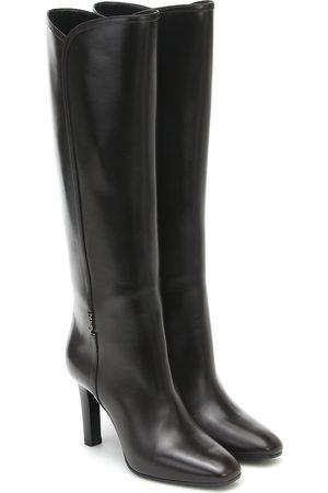 Saint Laurent Jane 95 leather boots