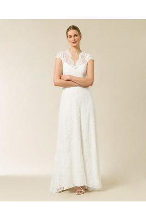 Ivy & Oak Bridal Cap Sleeve Lace Dress