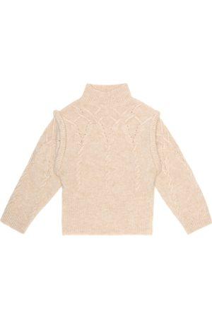 MORLEY Miss alpaca and wool-blend sweater