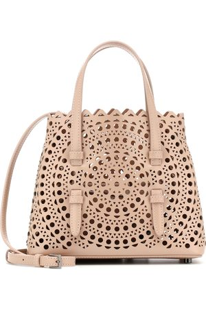Alaïa Mina 20 Mini leather tote