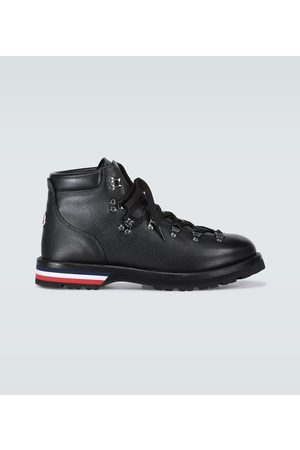 Moncler Peak leather boots