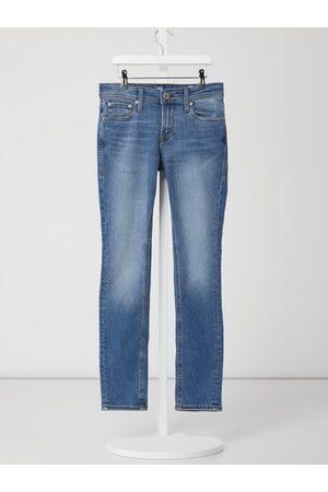 Jack & Jones Chłopiec Skinny - Jeansy o kroju skinny fit z dodatkiem streczu model 'Liam'