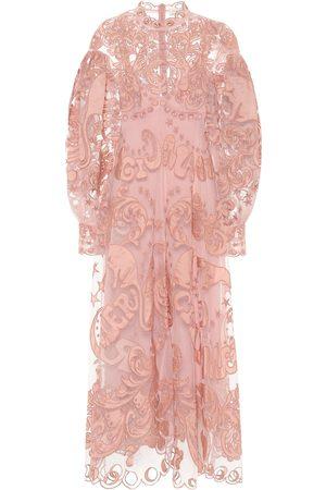 ZIMMERMANN Ladybeetle Fortune tulle maxi dress