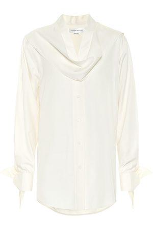 Victoria Beckham Silk-poplin blouse