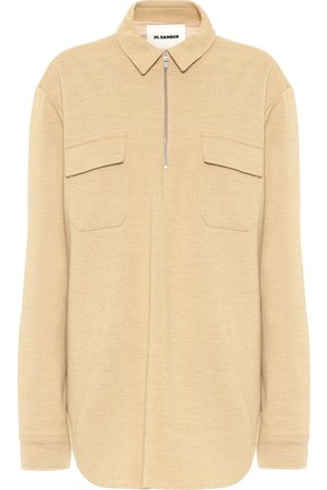 Jil Sander Wool jersey top