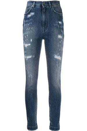 Dolce & Gabbana Kobieta Z wysokim stanem - Blue