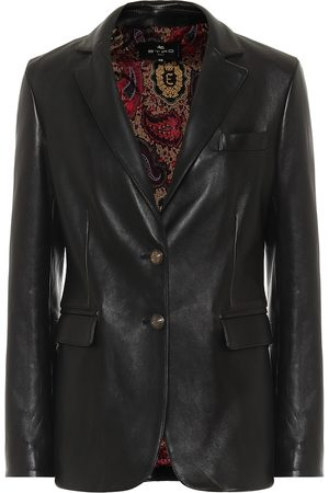 Etro Exclusive to Mytheresa – Leather blazer