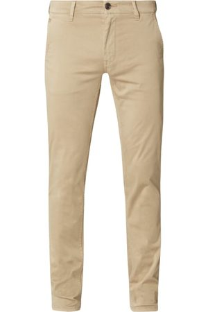 BOSS Casualwear Chinosy o kroju slim fit z dodatkiem streczu model 'Schino'