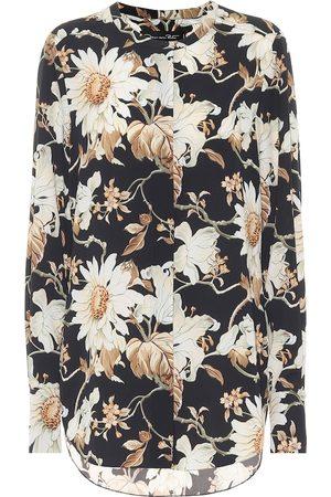 Oscar de la Renta Floral blouse