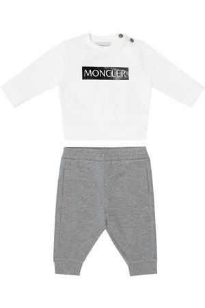 Moncler Bluzy - Baby sweatshirt and trackpants set
