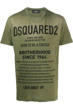 Dsquared2 Mężczyzna Z krótkim rękawem - Green