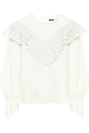 Isabel Marant Eloine linen blouse