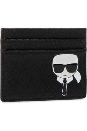 KARL LAGERFELD Portmonetki i Portfele - Etui na karty kredytowe - 205W3210 Black