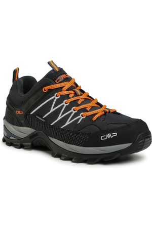CMP Trekkingi - Rigel Low Trekking Shoes Wp 3Q13247 Antracite/Flash Orange 56UE