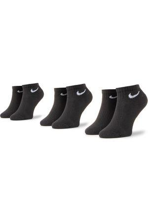 Nike Zestaw 3 par wysokich skarpet damskich - SX7667-010