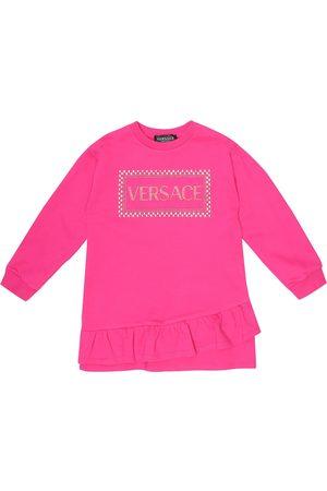VERSACE 90s Vintage cotton sweater dress