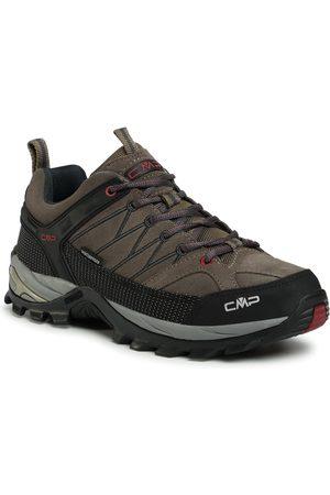 CMP Mężczyzna Buty trekkingowe - Trekkingi - Rigel Low Trekking Shoes Wp 3Q13247 Torba/Antracite 02PD