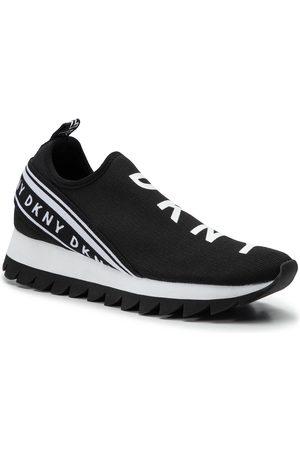 DKNY Kobieta Sneakersy - Sneakersy - Abbi K1966559 Black