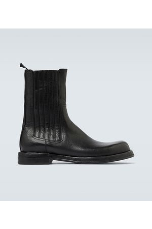 Dolce & Gabbana Botki - Leather ankle boots