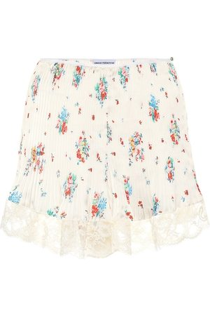 Paco rabanne Kobieta Spódnice - High-rise floral skirt