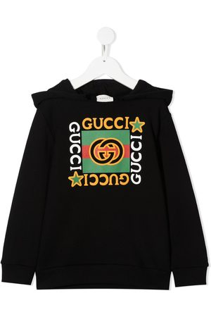 Gucci Chłopiec Bluzy z kapturem - Black