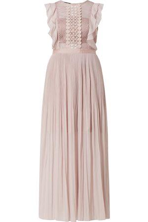 Apart Glamour Suknia wieczorowa z ażurową koronką
