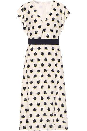 Stella McCartney Silk crêpe de chine midi dress