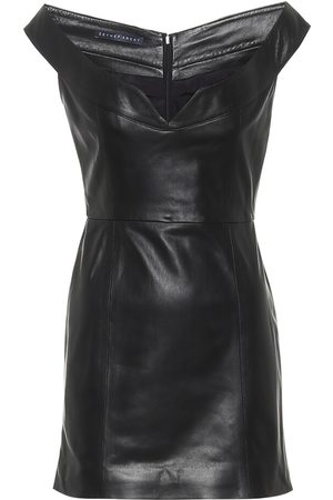 Zeynep Arcay Leather minidress