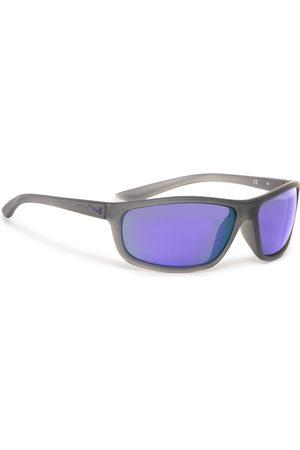 Nike Okulary przeciwsłoneczne - Rabid EV1110 015 Matt Dark Grey/Grey W/Violet Mirror