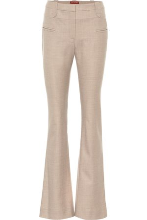 Altuzarra Serge flared stretch-wool pants