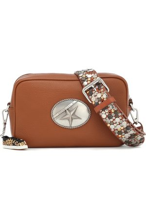 Golden Goose Star studded leather shoulder bag