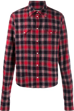 Dsquared2 Checked button-up shirt