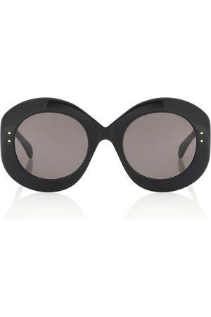 Alaïa Oval sunglasses