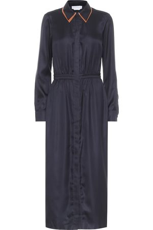 GABRIELA HEARST Lowell silk-twill midi dress