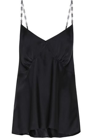 Paco rabanne Satin camisole top