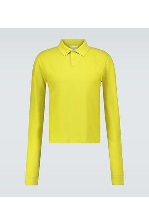 Bottega Veneta Long-sleeved polo shirt