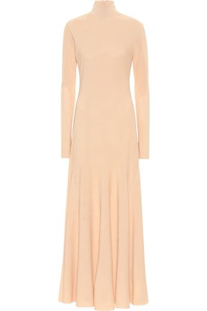 Bottega Veneta Turtleneck jersey midi dress