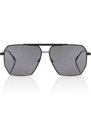 Bottega Veneta Square aviator sunglasses