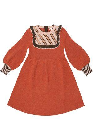 Caramel Nightingale merino wool dress
