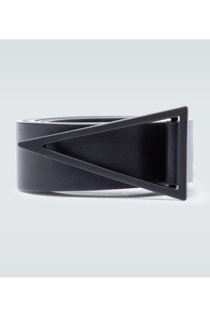 Bottega Veneta Triangle buckle leather belt