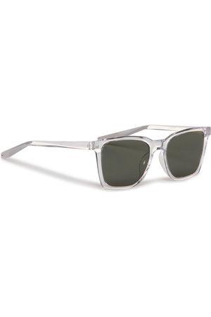 Nike Okulary przeciwsłoneczne - Bout CT8127 913 Clear/Wolf Grey/Green Lens