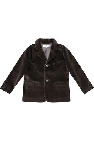 Caramel Magpie velvet blazer